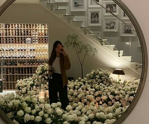 kendall jenner, fashion, and flowers image
