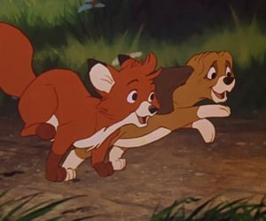disney and fox and the hound image