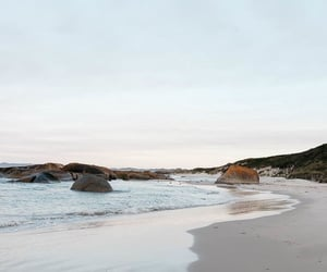 beach, holiday, and landscape image
