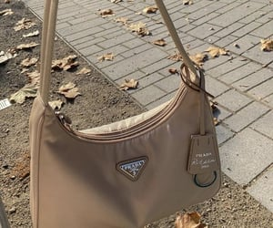 bag, beige, and fashion image