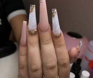 acrylic, nails, and cute image