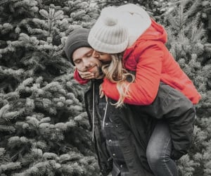 couple, style, and winter image