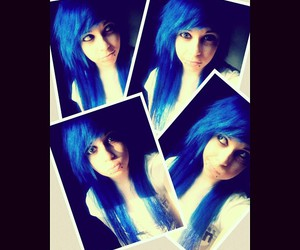 awesome, awesomeness, and blue hair image