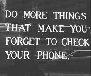 quotes, phone, and life image