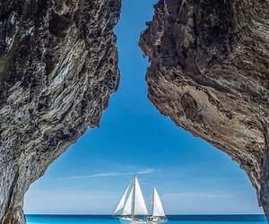 italy, sail, and Sardinia image