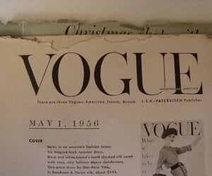 vogue, 50s, and fashion image