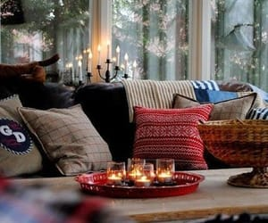 winter, cozy, and candle image