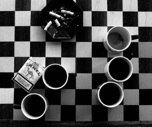 blackandwhite, cigarettes, and photography image
