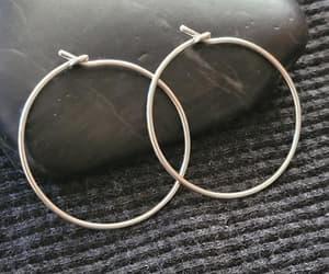 etsy, fashion, and hoop earrings image