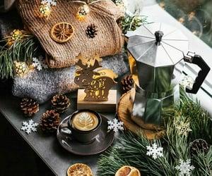 cappuccino, christmas, and Cinnamon image