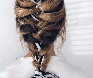 belleza, cabello, and hair image
