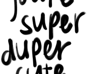 cute, love, and super image