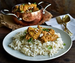 almond, indian food, and rice image