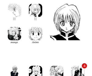 hunter x hunter, kurapika kurta, and phone organization image