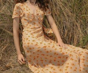 aesthetic, cottagecore, and dress image
