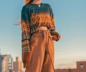 fall fashion, sweaters, and winter fashion image
