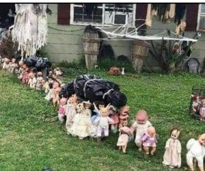 creepy, Halloween, and creepy dolls image