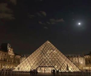 night, city, and paris image