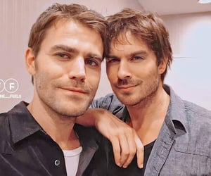 actors, bromance, and tvd image