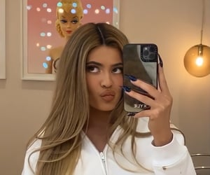 kylie jenner, girls, and blonde image