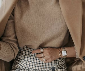 accessories, winter, and beige image