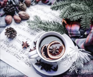 cup of tea, music, and tea image