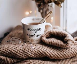 cosy, fall, and tea with lemon image