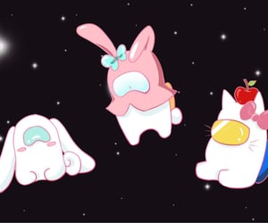 banner, cinnamoroll, and core image