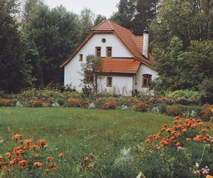 cottage, architecture, and charming image