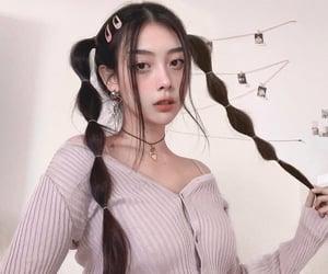 asian, korean, and ulzzang girl image