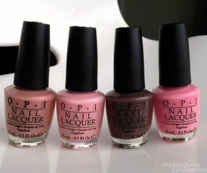 pink, nails, and makeup image