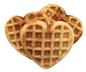 waffles, soft, and food image
