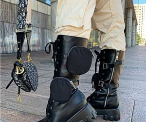 timberland boots, combat boots in black, and combat boots with coat image