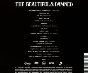 rca, the beautiful and damned, and album image