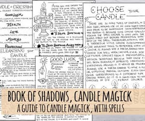 candle, spells, and simple spells image