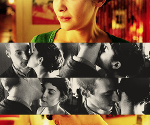 amelie, audrey tautou, and kisses image