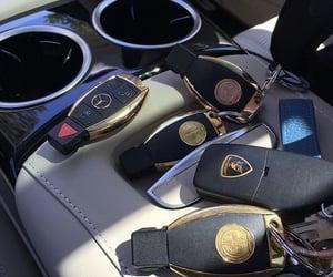 car, luxury, and keys image