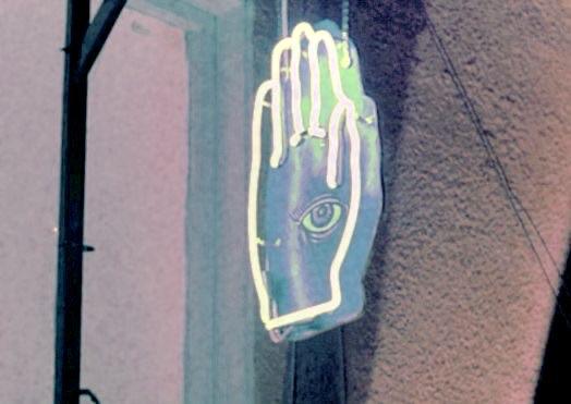 neon and eye image
