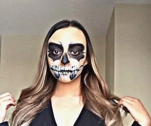 Halloween, make up, and catrina image