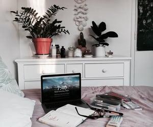 room, decor, and study image
