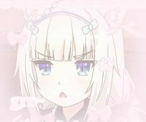 anime, catgirl, and edit image