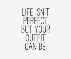 quotes, life, and outfit image