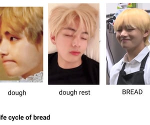 bread, cheekies, and cheeks image