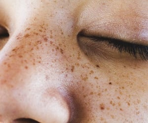 freckles, ginger hair, and girl image