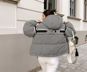 blogger, dior bag, and outfit image