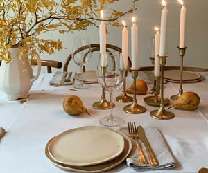 classy, dining table, and events image