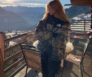 beauty, fashion, and ski image