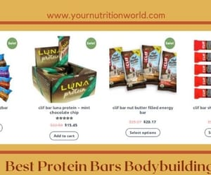 protein bars and nutrition bars image