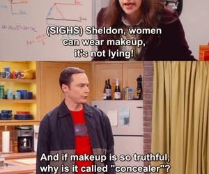 comedy, makeup, and quotes image