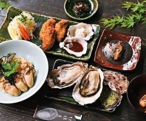oyster, food, and Hiroshima image